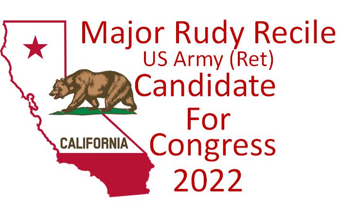Major Rudy Recile for Congress